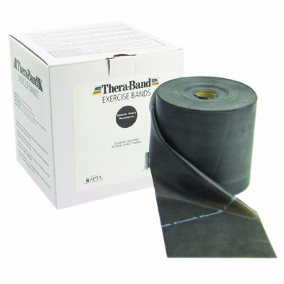 Thera-Band Roll, 150-Feet, Black For Sale