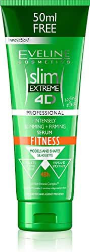SLIM EXTREME 4D SLIMMING AND FIRMING SERUM ANTI-CELLULITE FITNESS 250ml