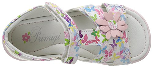 Primigi Pbt 7050, Botines de Senderismo para Bebés Multicolore (Bianco Multi)