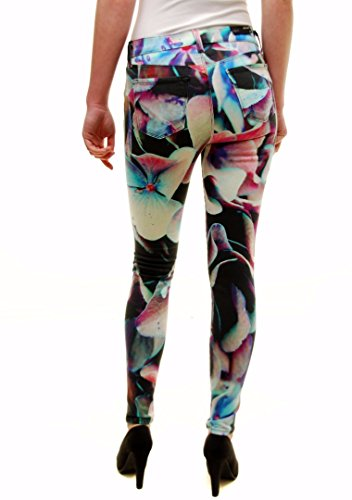 J Brand Mujer Hydra Print Jeans 620O241HP Multi Color