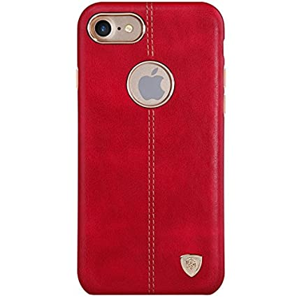 Nillkin Apple iPhone 7 Englon Leather Cover   Red Cases   Covers