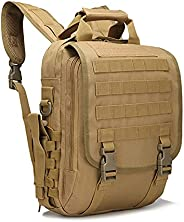 HAMIQI Military Tactical Backpack Outdoor Adventure Camo Backpack Tablet Backpack Small Waterproof Backpack