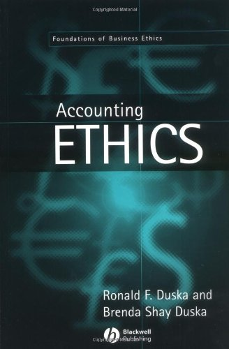 Download Accounting Ethics (Foundations of Business Ethics) Pdf