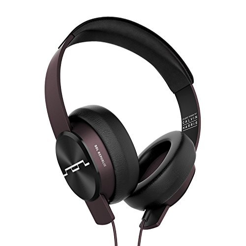 SOL REPUBLIC, SOL-HP1631RD Master Tracks XC Over-Ear Headphones, Studio Tuned by Calvin Harris