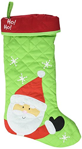 Stephen Joseph Christmas Stocking Santa