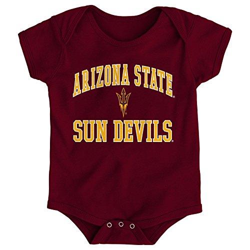 Gen 2 NCAA Arizona State Sun Devils Newborn & Infant Primary Logo Bodysuit, 0-3 Months, Brick]()