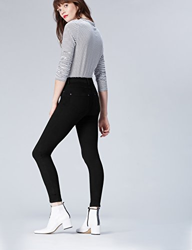 Regular black Donna Find Nero Jeans Skinny Vita 7wZFq