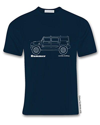 Tama de o de autom Hummer camiseta de 360 autos AtHndq6x