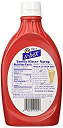 Fox\'s u-bet 20-Oz. Vanilla Syrup