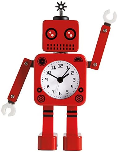 Torre Tagus Robot RED Alarm Clock, 4.5x2x8