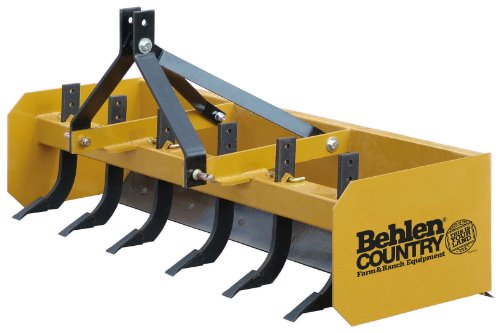 Behlen Country 80111110YEL Heavy Duty Box Blade, 6-Feet by Behlen Country