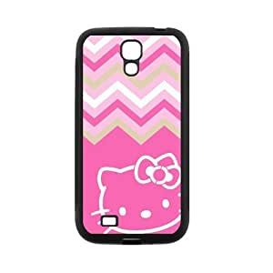 Kitty Cat Phone Shell Case for SamSung Galaxy S4 I9500,TPU+PC Diy Galaxy s4 Cover Case s4-linda228