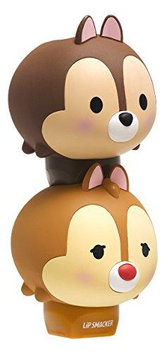 Lip Smacker Disney Tsum Tsum Lip Balm Duo, Chocolate Chip/Dale Kooky Oatmeal Cookie, 2 Count