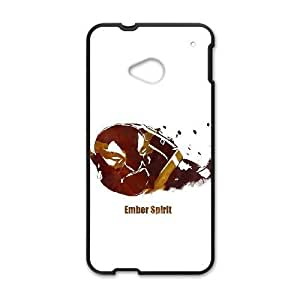 HTC One M7 Black phone case Ember Spirit Dota 2 DOT0110327