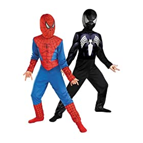 Reversible Spider-Man Red To Black Classic 41cejINO9QL
