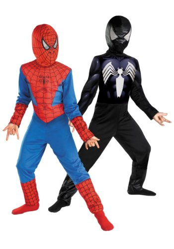 - 41cejINO9QL - Reversible Spider-Man Red To Black Classic