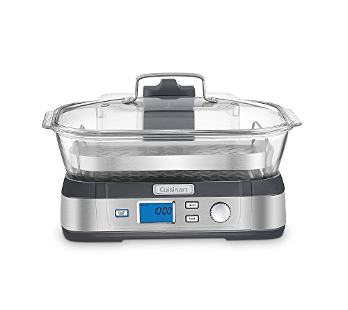 Cheapest Price! Cuisinart STM-1000 CookFresh Digital Glass Steamer, Stainless Steel