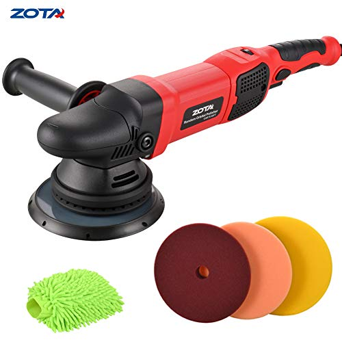 Buffer Kit - ZOTA Polisher, 21mm Long-Throw Upgraded Random Orbital Polisher, 6.5