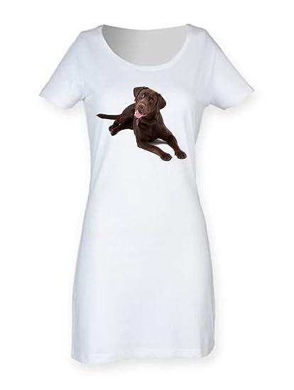 176f70809e31 Chocolate Labrador Retriever Women s Short Sleeve T-Shirt Dress (Small