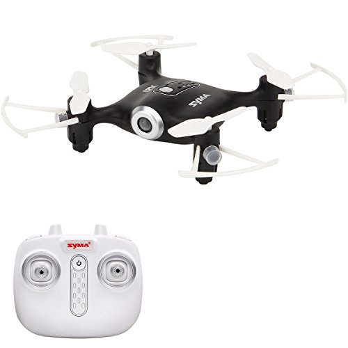 SYMA Mini UFO Quadcopter Drone 2.4G 4CH 6 Axis Headless Mode Remote Control Nano Quadcopter RTF Mode 2 by SYMA