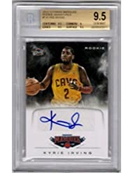 finest selection b7b92 4984d Kyrie Irving 2012 13 Panini Marquee Rc Rookie Autograph Sp Auto Bgs 9.5 Gem  10 - Panini Certified - Basketball Slabbed Autographed…
