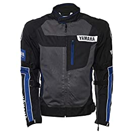 Yamaha Riding Jacket (Blue, L)
