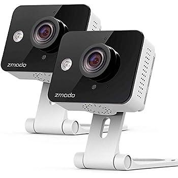 Amazon com : Zmodo Wireless Security Camera System (4 Pack