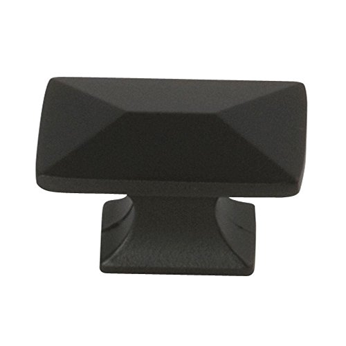 Belwith Bronze Knobs - Belwith P2150-10b Knob Rectangle 1-1/4in Oil Rubbed Bronze (Pack of 10)
