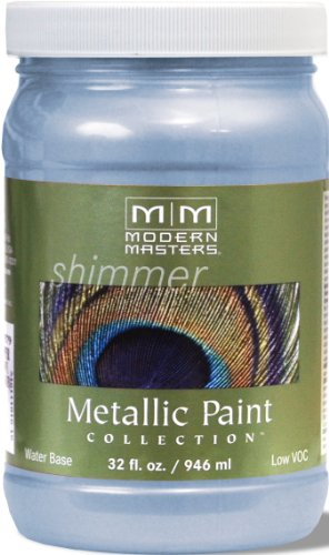 (Modern Masters ME514-32 Metallic Shimmering Sky, 32-Ounce)