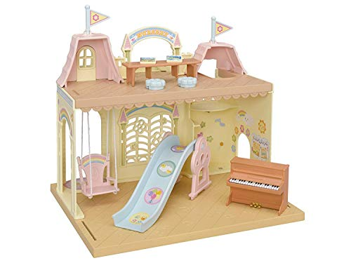 Calico Critters Baby Castle Nursery Bundled with Cuddle Bear Family Doll