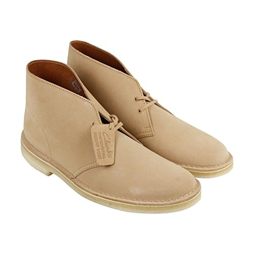 Clarks Men's Desert Boot Fudge Suede (Mens Fudge)