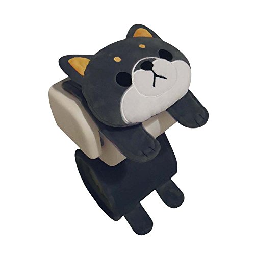 Meiho Dog Shibainu Black ''Toilet Paper Holder Cover'' Stuffed Toy Me275 (japan import) by Meiho