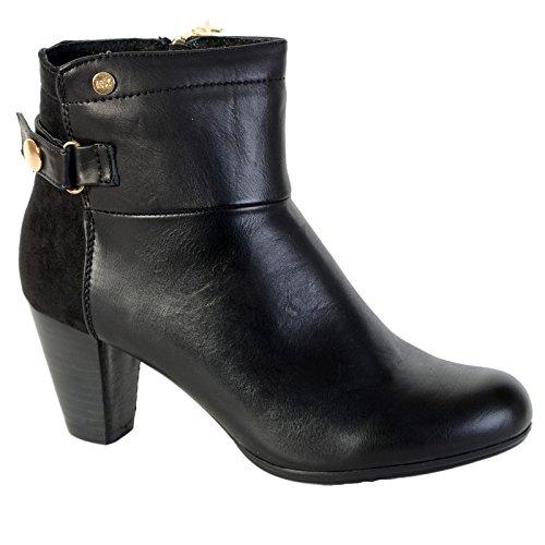 Zapatos Xti Combinado Mod 28551 Negro Noir