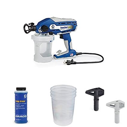 Graco TrueCoat 360 Paint Sprayer Kit with Pump Armor, Paint