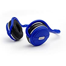 Kinivo BTH240 Limited Edition Bluetooth Stereo Headphone – Supports Wireless Music Streaming and Hands-Free calling (Cool Blue)