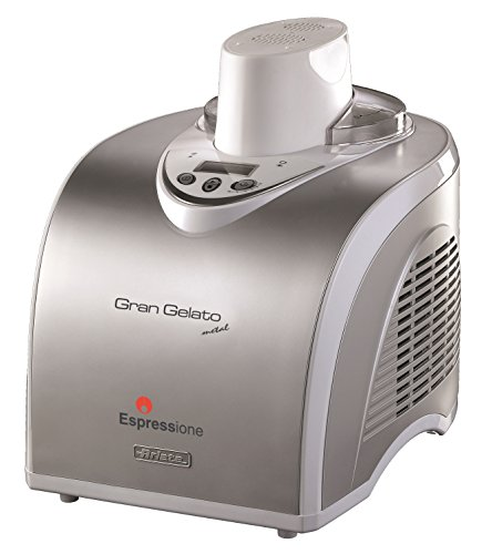 Espressione-Ariete (a company of De'Longhi Group) Gran Gelato Metal Ice Cream Maker (Espressione Gran Gelato Metal Ice Cream Maker)