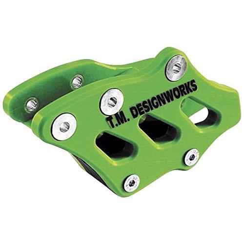 T.M デザインワークス T.M DESIGNWORKS チェーンガイド リア ファクトリーエディション2 09年-14年 KX450F 緑 971236 RCG-KX3-GR   B01MROWS57