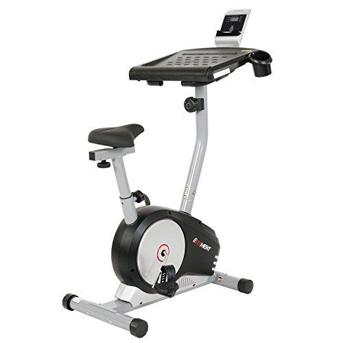EFITMENT Workstation Desk Exercise Upright Bike, Desk Bike w/Table - B004 by EFITMENT