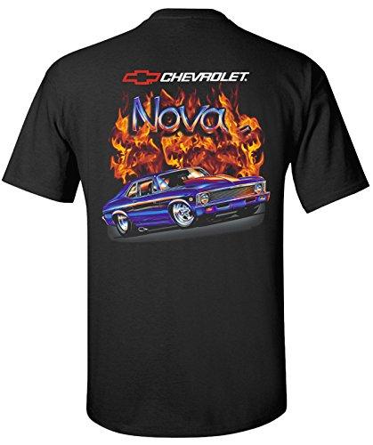 68-70 Chevrolet Nova Flamed T-Shirt 100% Cotton Preshrunk