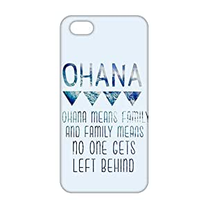 Slim Thin 3D Ohana means family For HTC One M7 Phone Case Cover