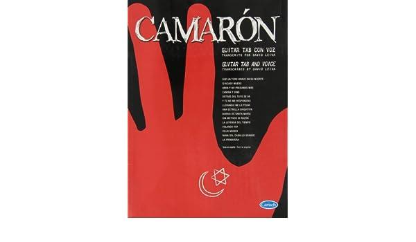 Amazon.com: CAMARON - Antologia para Voz y Guitarra Tab (Leiva ...