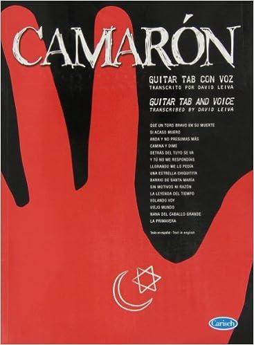 Amazon.com: CAMARON - Antologia para Voz y Guitarra Tab (Leiva) (9788438710364): CAMARON: Books