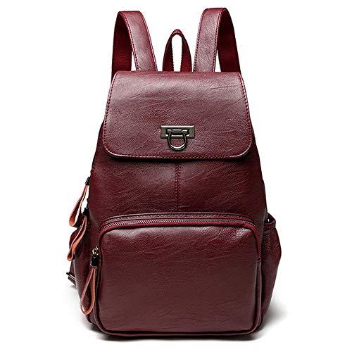 Genuine Leather Backpack...