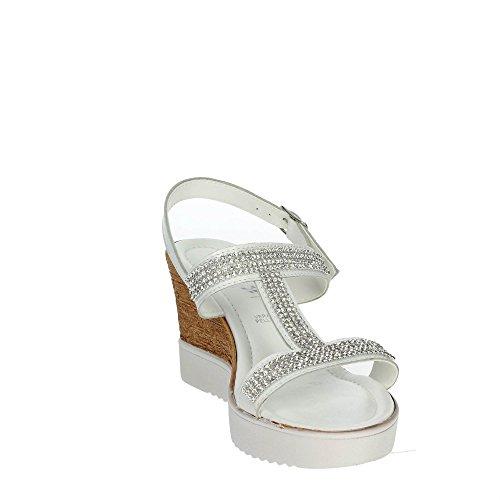 Cinzia Soft IAF 2481-35 001 Sandalias Mujer Blanco