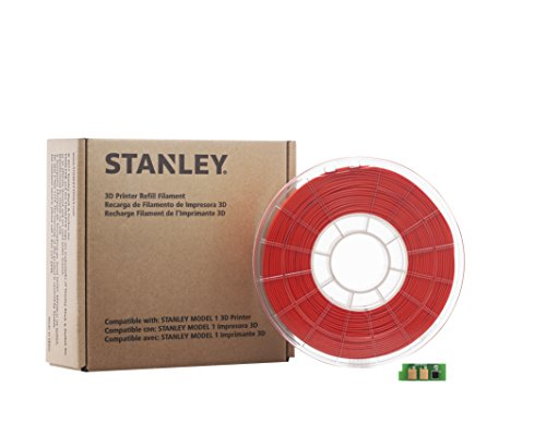 STANLEY-3D-Printer-Refill-Filament-PLA-Red
