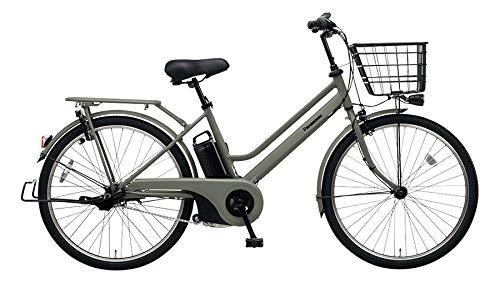 Panasonic(パナソニック) 2019年モデル ティモS 26インチ BE-ELST634 電動アシスト自転車 専用充電器付  マットオリーブ B07LD63YGM