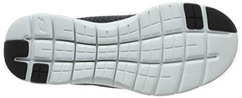 Nero cravy 0 nero da uomo Sneakers Advantage Flex bianco 2 Skechers q81ZZI