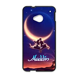 HTC One M7 Cell Phone Case Black Aladdin as a gift J2299218
