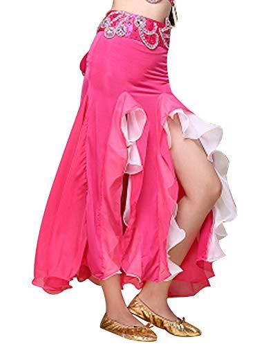 Legou Jupe Queue de Poisson Danse du Ventre Douce-Femme Rose