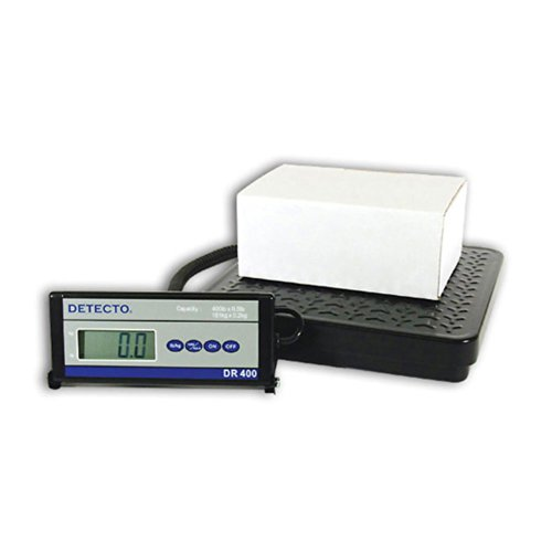 Detecto DR400 Portable Digital Receiving Scale,12